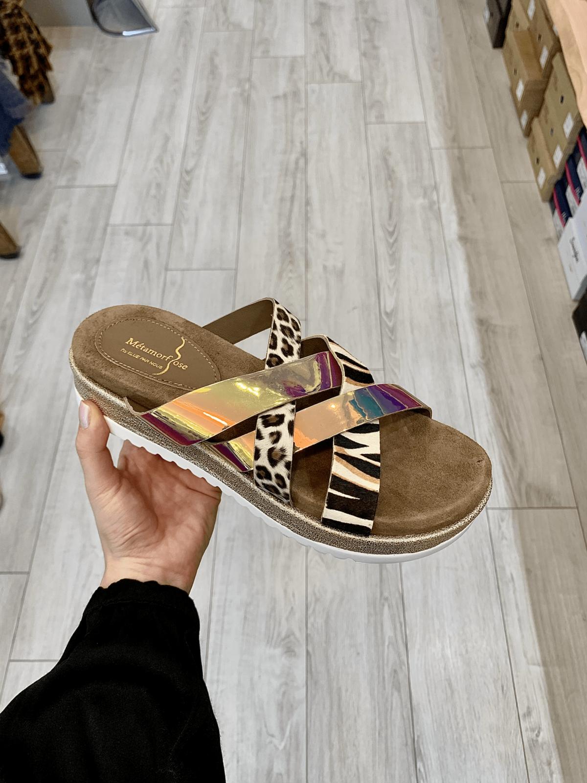 sandales sans attache entrechat